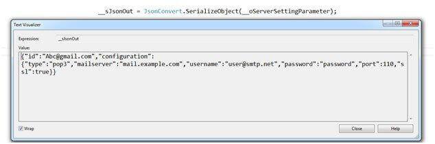JSON Serialization and Deserialization in ASP NET MVC